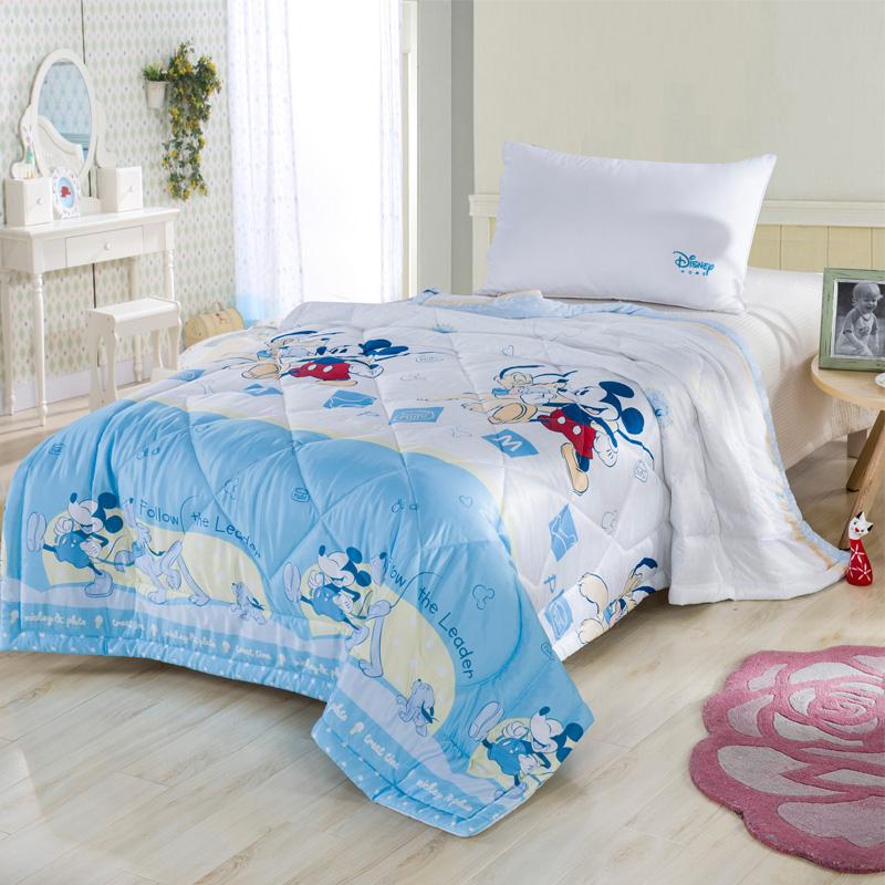 迪士尼 天丝绸夏凉被 儿童床上用品 200x230cm