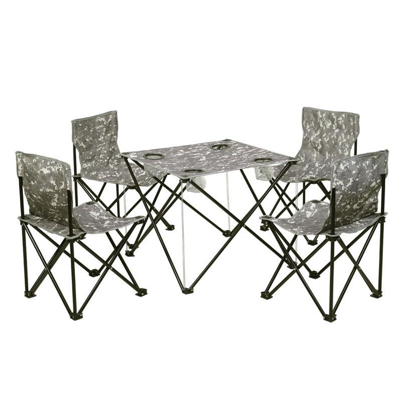 攀能 四人休闲折叠桌椅 PN-2433