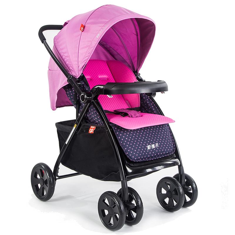 好孩子 婴儿手推车 高景观 可躺可坐 折叠避震 C355