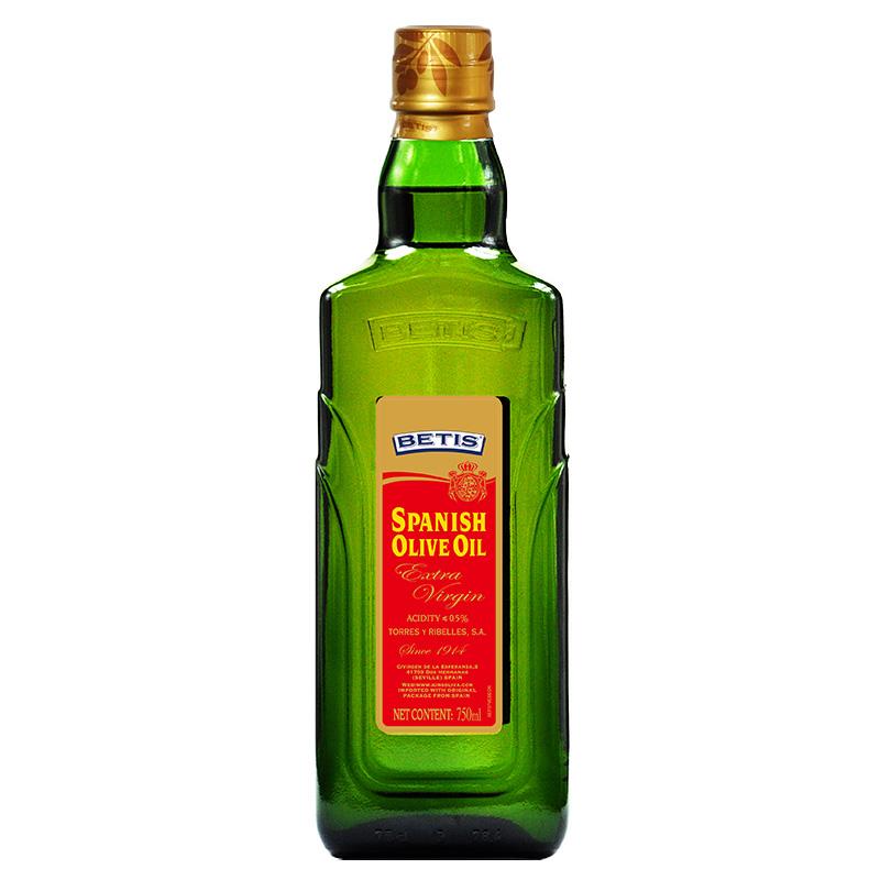 贝蒂斯(BETIS)特级初榨橄榄油 750ml/瓶