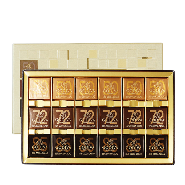 GODIVA歌帝梵 商务片装巧克力18颗装