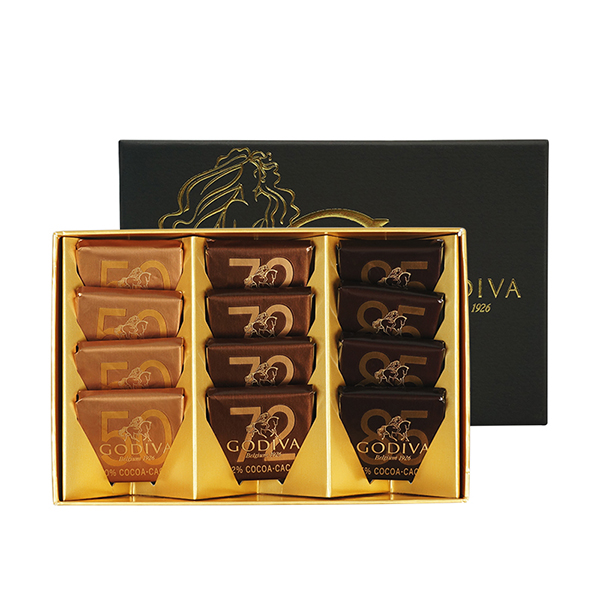 GODIVA歌帝梵 经典片装巧克力12颗装