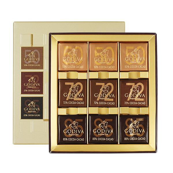 GODIVA歌帝梵 商务片装巧克力9颗装