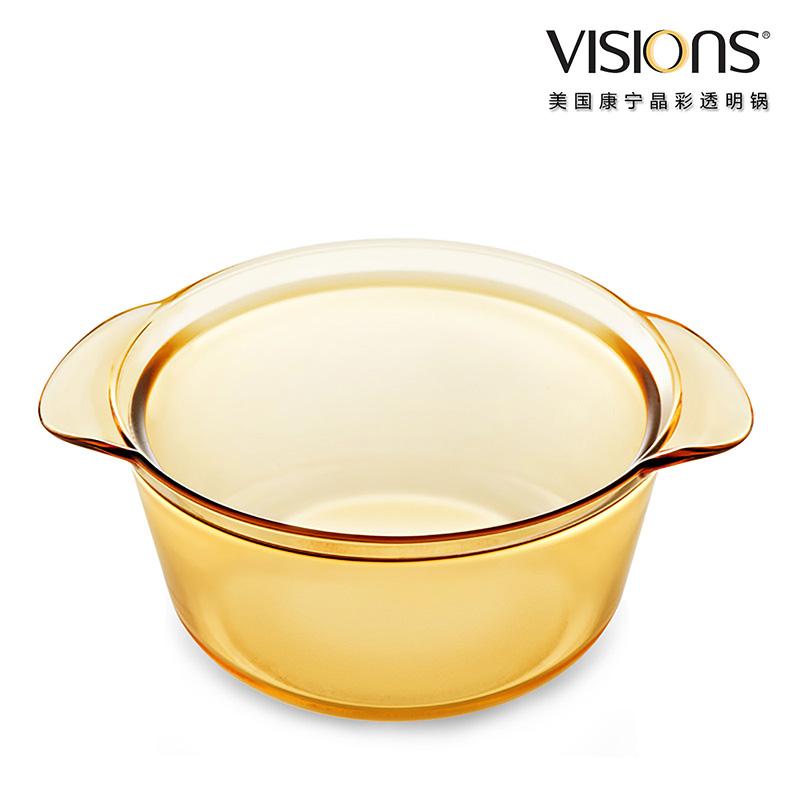 美国康宁 晶彩透明锅(时尚系列)VS-16-FL 1.6升(时尚煮锅)