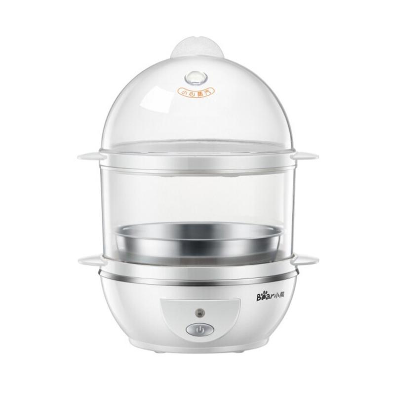 小熊(Bear)煮蛋器 家用早餐迷你机自动断电一键式蒸蛋器 ZDQ-206
