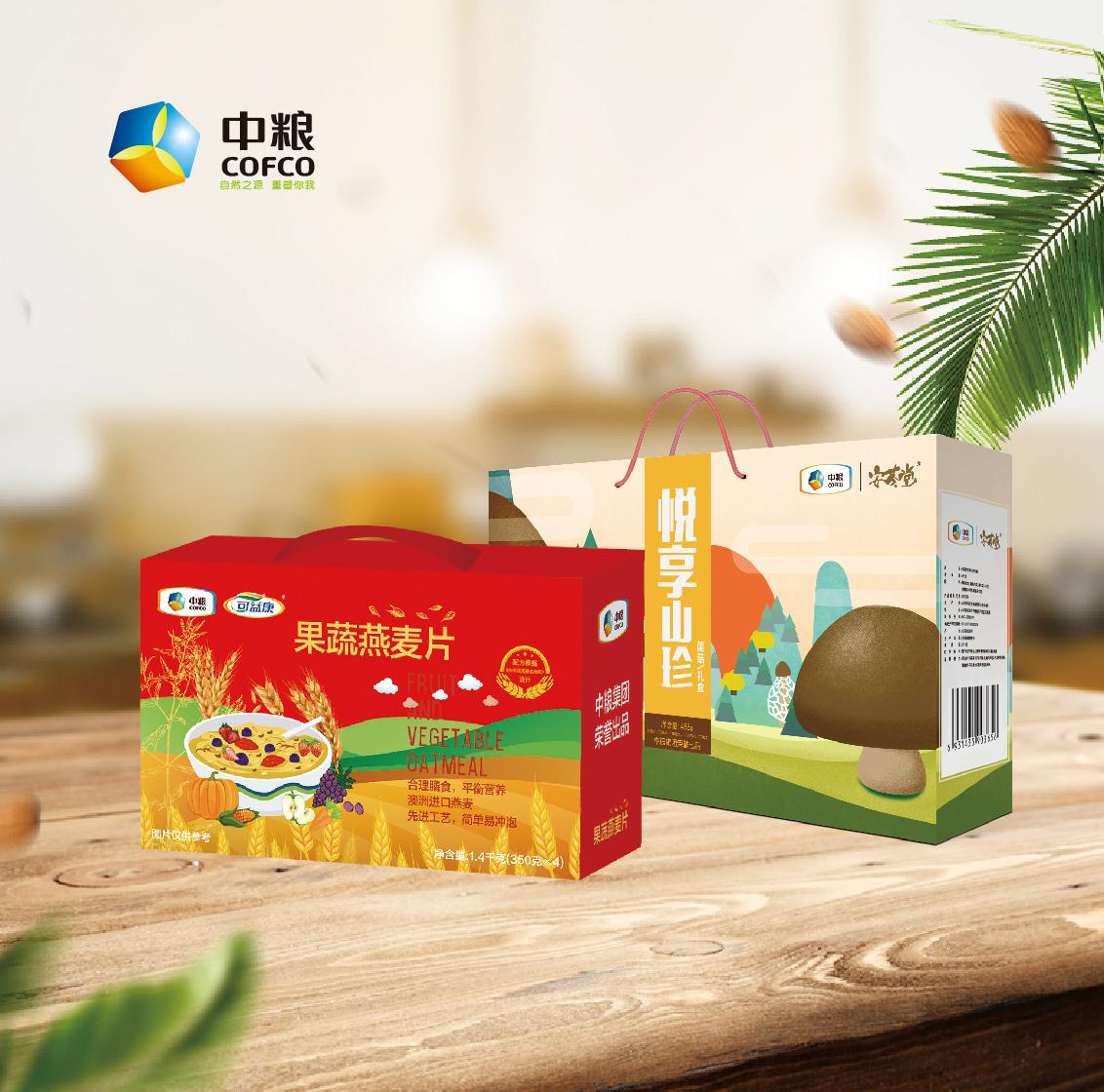 山珍燕麦礼盒