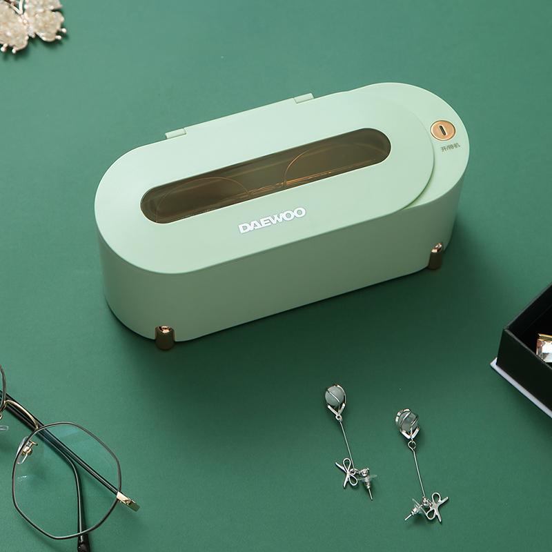 韩国大宇 超声波清洗机家用洗眼镜机牙套清洗器手表首饰清洗神器DYQX-15U