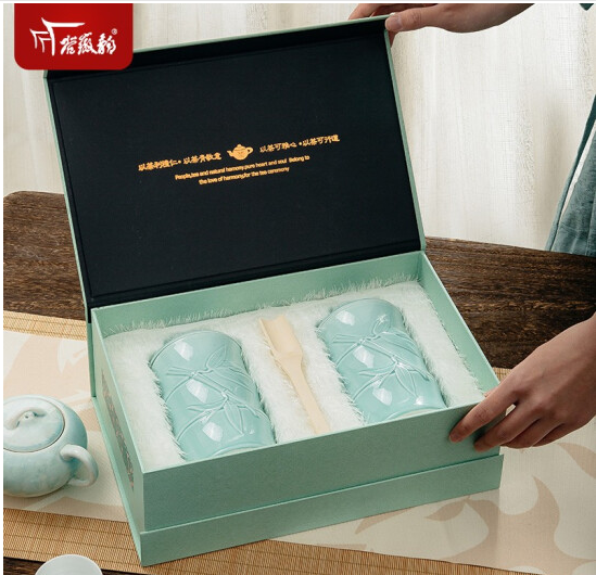 【2021新茶上市】谷徽韵安徽春茶黄山毛峰礼盒装明前特级200g